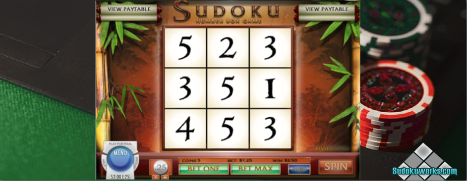 Sudoku Online Casino Game